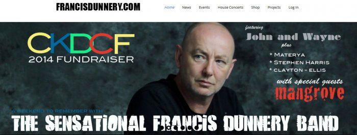 Francis Dunnery Materya CKDCF 2014